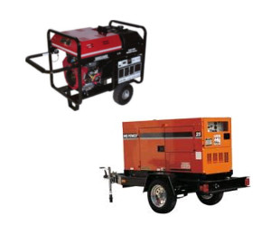Generator rentals in Honolulu, Waikiki, and Oahu