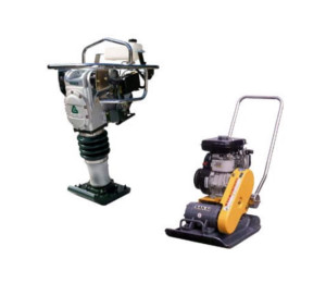 Compaction equipment rentals in Honolulu, Waikiki, and Oahu