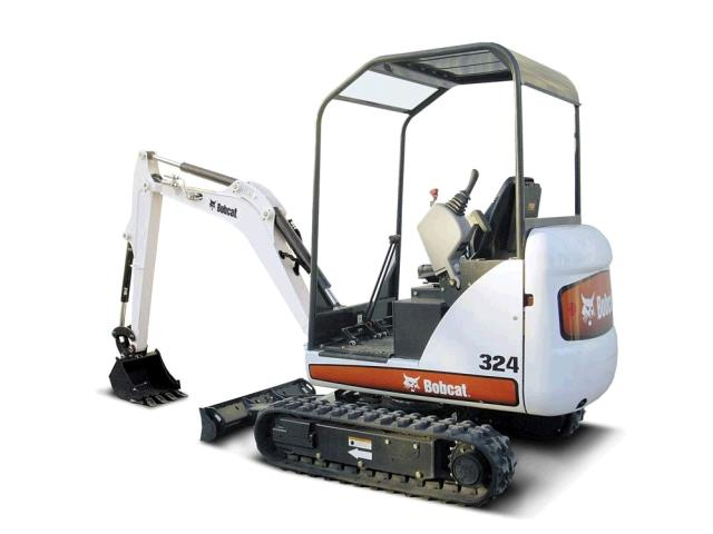 Where to find BOBCAT MINI EXCAVATOR 324M in Honolulu