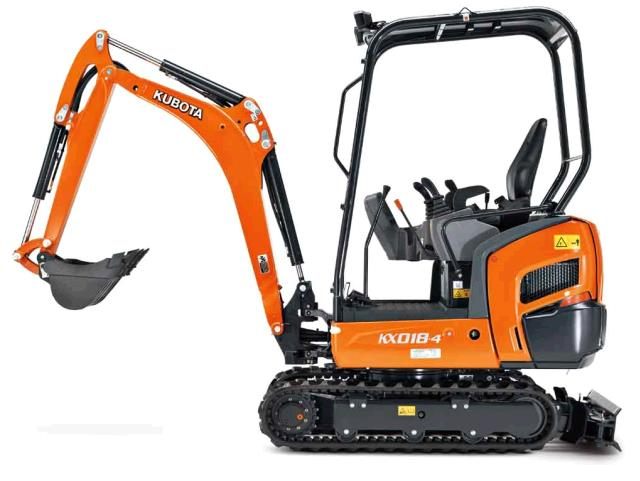 KUBOTA MINI EXCAVATOR KX018 4 Rentals Honolulu HI, Where to Rent