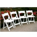 Rental store for CHAIR WHITE PADDED RESIN in Honolulu HI