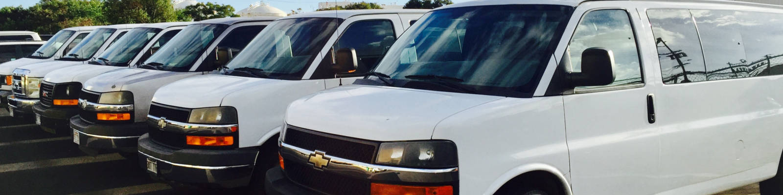 Passenger Van Rentals in Honolulu, Waikiki, and Oahu